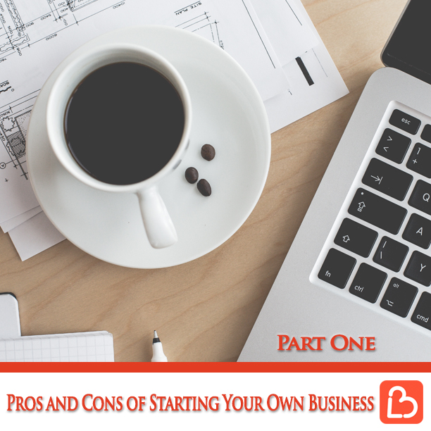 Pros and Cons of Starting Your Own Business – Part 1