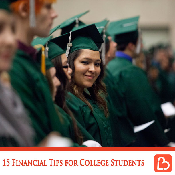 15 Financial Tips for College Students